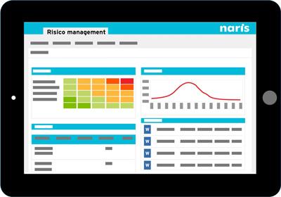 Naris Risicomanagement Software Screenshot