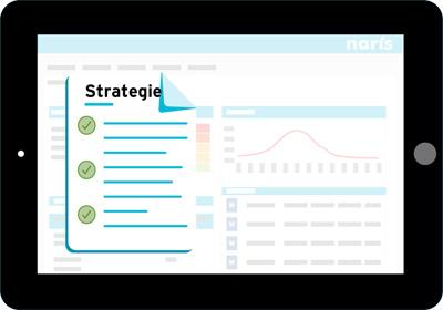 Weergave module Risicomanagement Strategie