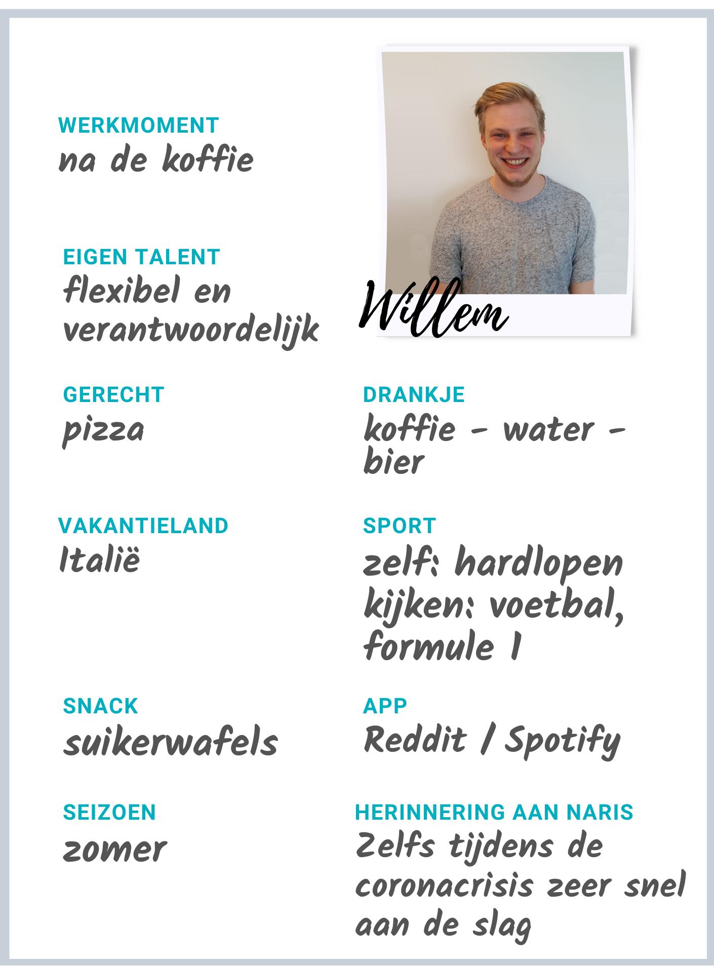 Medewerker Willem
