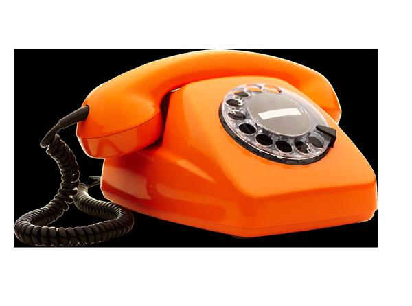 Telefoon oranje